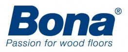 Bona logo with tagline